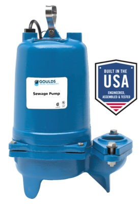 Goulds Ws2034bhf Model 3887bhf 2 Hp Submersible Sewage