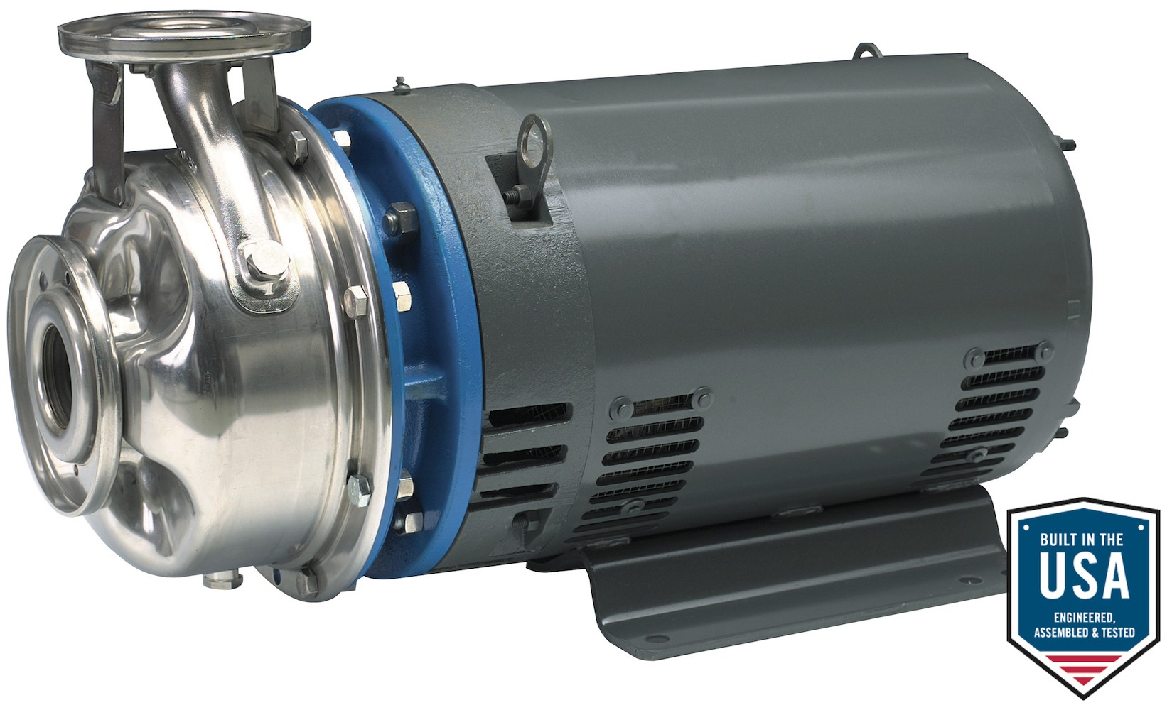 Goulds Part #10SH3F12A0, 1 x 2-8, 1 5HP, 115/230V, 1 Phase, Close-Coupled,  SSH Series Centrifugal Pump with TEFC Motor Enclosure